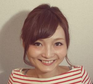 黒須理恵子さん顔