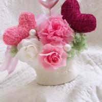 母の日お花とお手紙教室写真